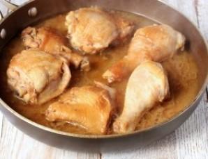 Жаркое из курицы - фото шаг 7