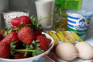 Клубнично-йогуртовый торт - фото шаг 1