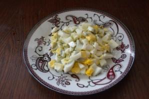 Салат с черносливом и огурцом - фото шаг 4
