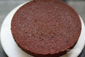 Шоколадно-вишневый торт - фото шаг 9