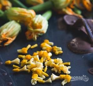 Овощные цветы с фаршем - фото шаг 2
