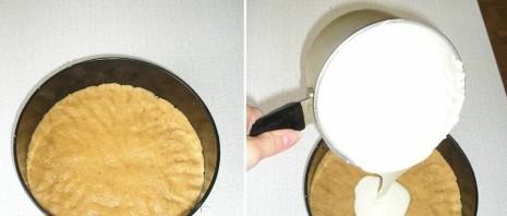Персиковый чизкейк без выпечки - фото шаг 2