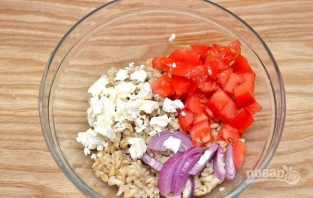 Салат с перловкой - фото шаг 2