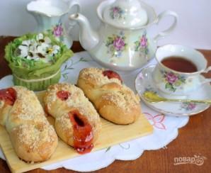 Латвийские булочки с повидлом - фото шаг 7