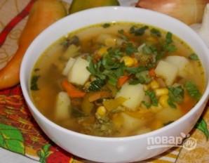 Суп из консервированной кукурузы - фото шаг 10