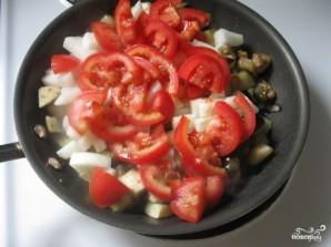 Тушеные баклажаны с помидорами - фото шаг 4