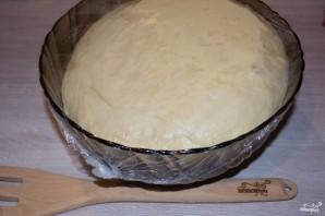 Дрожжевое тесто для пирога - фото шаг 6