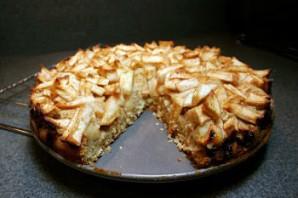 Шарлотка с рисом и яблоками - фото шаг 4