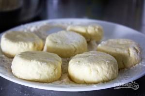 Пышные сырники в духовке - фото шаг 3