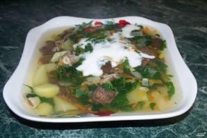 Cуп со сморчками и картофелем - фото шаг 5