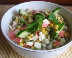 Салат из крабовых палочек классический - фото шаг 5