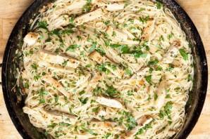 Рецепт пасты с курицей - фото шаг 5