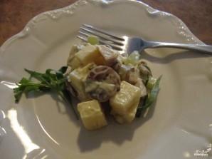 Салат из индейки с сыром - фото шаг 2