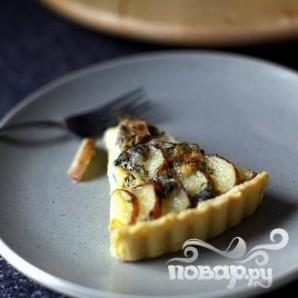 Тарт с картофелем и голубым сыром - фото шаг 4