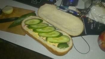 Мужской бутерброд - фото шаг 8