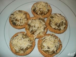 Вешенки с сыром - фото шаг 5