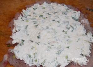 Куриный рулет с сыром в духовке - фото шаг 3