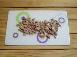 Диетический салат из морской капусты - фото шаг 3