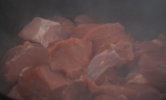 Плов в казане из говядины - фото шаг 3