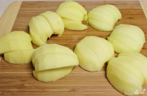 Перевернутый яблочный пирог - фото шаг 1