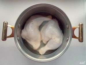Лапша на курином бульоне - фото шаг 1