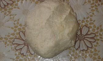 Вишневый пирог из песочного теста - фото шаг 3