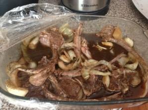 Бараньи ребрышки на сковороде - фото шаг 1