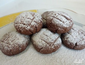 Шоколадное печенье с какао - фото шаг 5