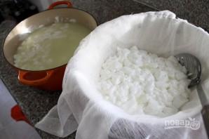 Сыр из коровьего молока своими руками - фото шаг 3