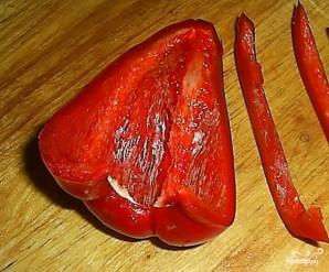 Салат из капусты с перцем - фото шаг 2