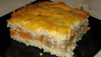 Запеканка рисовая с мясом - фото шаг 5