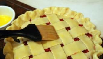 Быстрый пирог с вишней - фото шаг 10