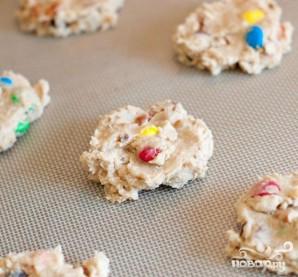 Печенье с изюмом, орехами и M&M's - фото шаг 2