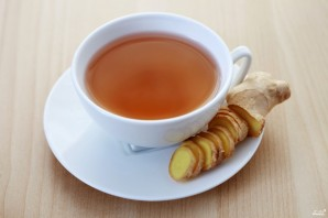 Зеленый чай с чабрецом - фото шаг 3