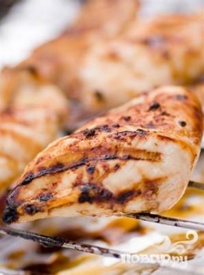 Куриные грудки гриль с медом и лимоном - фото шаг 3