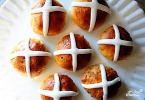 Сдобные булочки на Пасху - фото шаг 25