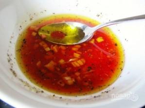 Салат с помидорами и куриным филе - фото шаг 7