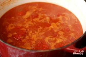 Томатный суп с бренди - фото шаг 2