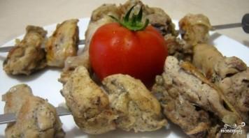 Шашлык из курицы в уксусе - фото шаг 4