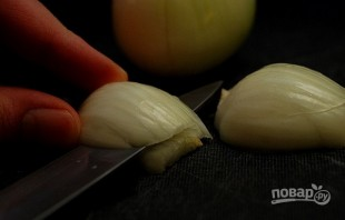 Макароны со свининой на сковороде - фото шаг 1