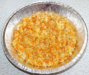 Рыба с цветной капустой в яично-майонезном соусе - фото шаг 4