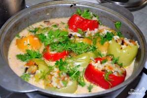 Перец, фаршированный рисом и овощами - фото шаг 10
