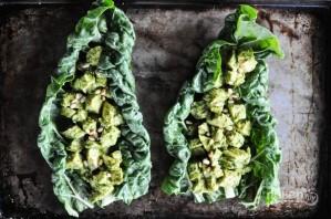 Салат с куриными грудками - фото шаг 5