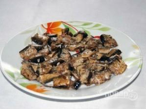 Салат из шпротов - фото шаг 2