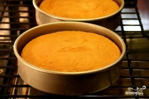 Торт с творогом и клубникой - фото шаг 4