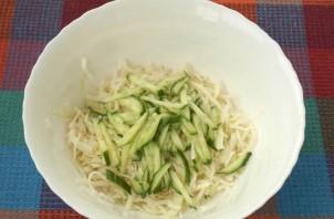 Салат к семге - фото шаг 1