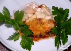 Куриное филе с яблоками в духовке - фото шаг 6