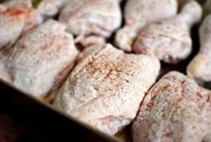 Курица кусочками в духовке - фото шаг 2