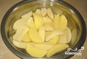 Курица с картофелем в фольге - фото шаг 2