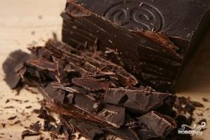 Кофейно-шоколадные пирожные с грецкими орехами - фото шаг 1